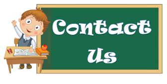 Image result for contact us cartoon school